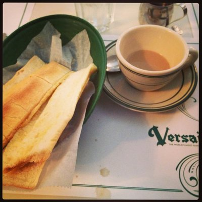 Cuban Toast with Cafe con Leche