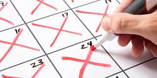 Calendar Marks